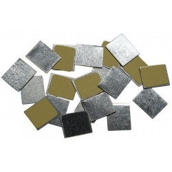 Stickers Metallici Rettangolari (Un Pezzo) - Z Palette