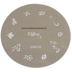 Disco Nail Stamping - DISC-03