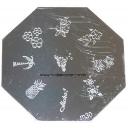Disco Nail Stamping - M30
