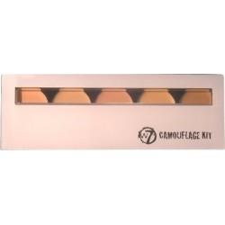 Camouflage Kit Cream Concealer - Palette 5 Correttori - W7