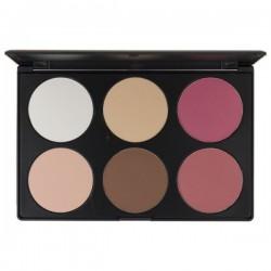 6 Contour / Blush Palette - Blush Professional