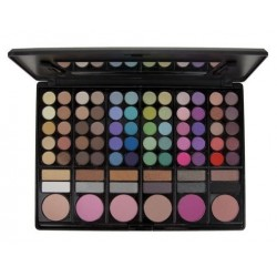 78 Colour Makeup Palette - Blush Professional