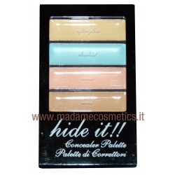 Hide It!! Palette 4 Correttori - Technic