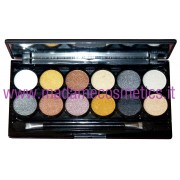 Electric Beauty Metallix Eyes Palette - Technic