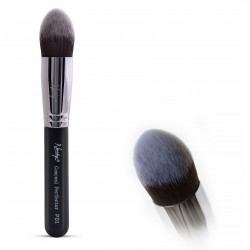 Gobsmack Glamorous Onyx Black Face Makeup 5 pcs Brush Set - Nanshy
