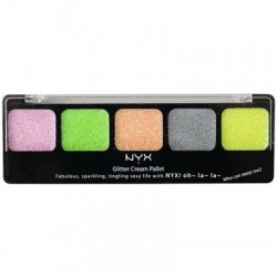 Glitter Cream Palette Utopia - NYX