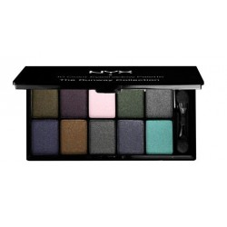 10 Color Eyeshadow Palette Haute Model - NYX