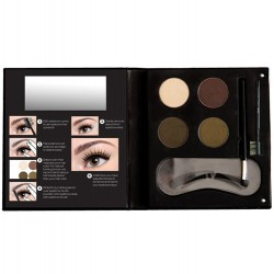 Eyebrow Kit With Stencil For Blondes - NYX