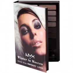 Winter in Moscow - Silver Gray Smokey Look Kit - NYX