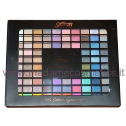 Palette 100 Colour Eyeshadow - Saffron
