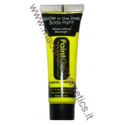 Glow In The Dark Body Paint Neon Yellow - PaintGlow