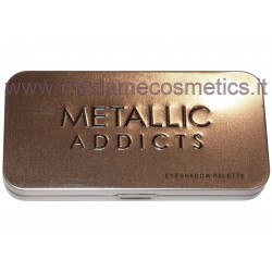 Metallic Addicts Eyeshadow Palette - Saffron