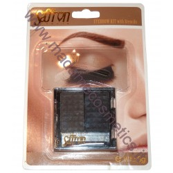 Eyebrow Kit With Stencils 01 - Saffron