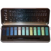 Fashionista Eyeshadow Palette Blue/Green - Glitter Colours - Technic