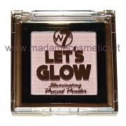 Let's Glow Illuminating Pressed Powder - W7