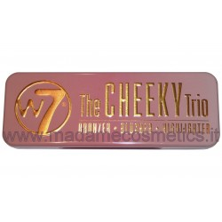 The Cheeky Trio Bronzer Blusher Highlighter - W7