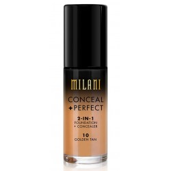 Conceal + Perfect Golden Tan 10 - 2-in-1 Foundation + Concealer - Milani