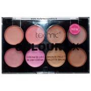 Colour Fix Cream Blush & Bronze Palette - Technic