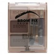 Brow Fix Kit Dark - Milani