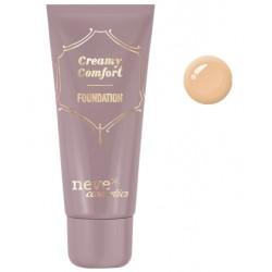 Fondotinta Creamy Comfort Tan Warm - Neve Cosmetics