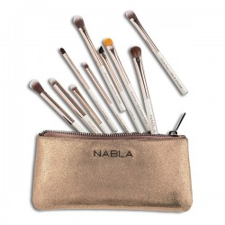White Rose Eye Brush Set - Holiday Collection - Nabla
