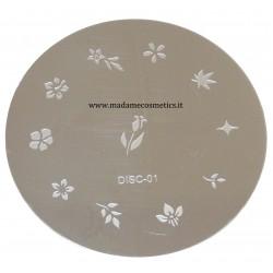 Disco Nail Stamping - DISC-01