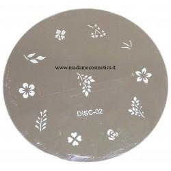Disco Nail Stamping - DISC-02