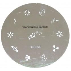 Disco Nail Stamping - DISC-04