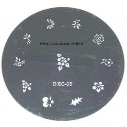 Disco Nail Stamping - DISC-05