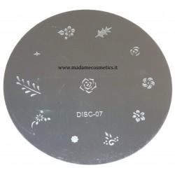Disco Nail Stamping - DISC-07
