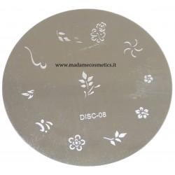 Disco Nail Stamping - DISC-08