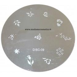 Disco Nail Stamping - DISC-09