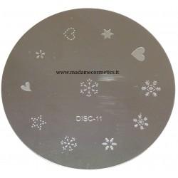 Disco Nail Stamping - DISC-11