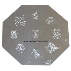 Disco Nail Stamping - M54