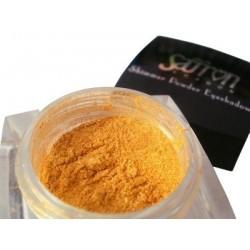 Shimmer Powder Eyeshadow 6 Oro Bruciato - Saffron Cosmetics