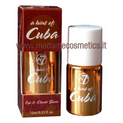 A Hint Of Cuba Lip & Cheek Stain - W7 Cosmetics