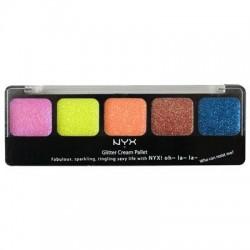 Glitter Cream Palette Eden - NYX