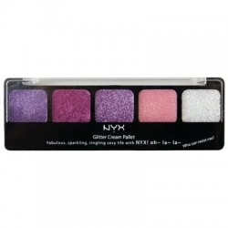 Glitter Cream Palette Pretty In Pink - NYX