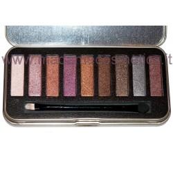 Metallic Addicts Eyeshadow Palette - Saffron
