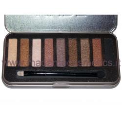 Nude Addicts Eyeshadow Palette - Saffron