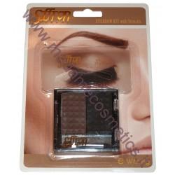 Eyebrow Kit With Stencils 02 - Saffron