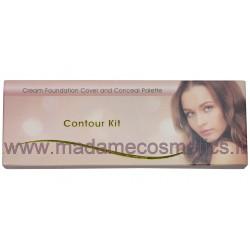Contour Kit Cream Foundation Cover & Conceal Palette - Saffron