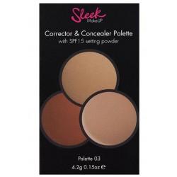 Corrector & Concealer 3 - Sleek Makeup