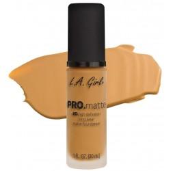 PRO Matte Foundation Soft Honey - L.A. Girl